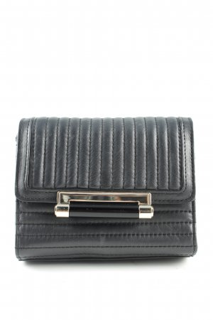 Diane von Furstenberg Minitasche schwarz Steppmuster Elegant