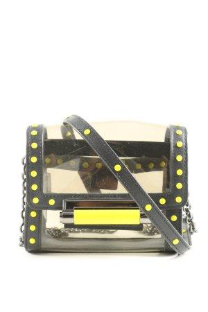 Diane von Furstenberg Minitasche schwarz-blassgelb extravaganter Stil