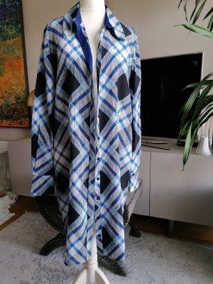 Diane von Furstenberg NEU Long Bluse Seide