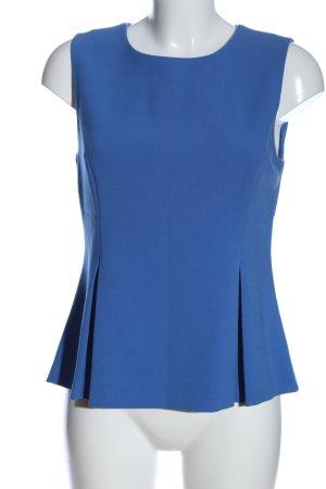 Diane von Furstenberg Schlupf-Bluse blau Business-Look
