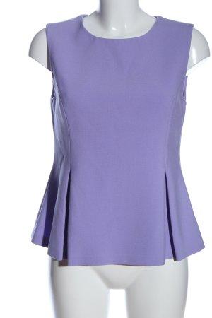 Diane von Furstenberg Schlupf-Bluse lila Business-Look