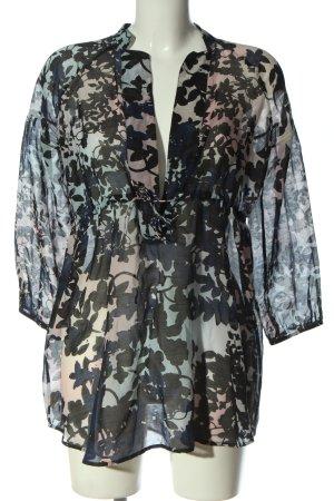 Diane von Furstenberg Schlupf-Bluse abstraktes Muster Casual-Look