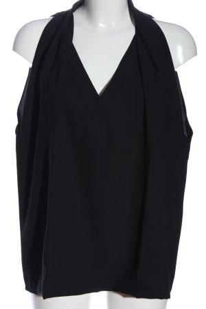 Diane von Furstenberg Schlupf-Bluse schwarz Casual-Look