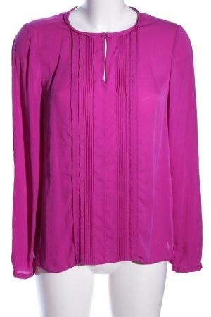 Diane von Furstenberg Seidenbluse pink Business-Look