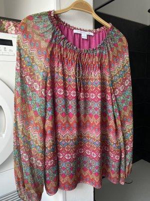 Diane von Furstenberg Blouse en soie multicolore