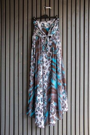 Diane von Furstenberg Robe longue multicolore soie
