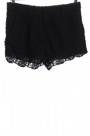 Diane von Furstenberg Shorts negro elegante