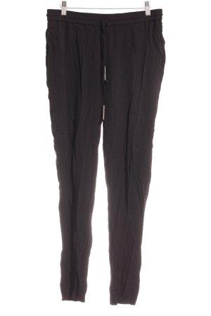 Diane von Furstenberg Stoffhose schwarz schlichter Stil