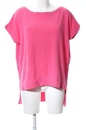 Diane von Furstenberg Strickshirt pink Casual-Look