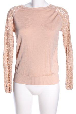 Diane von Furstenberg Sweatshirt wollweiß Casual-Look