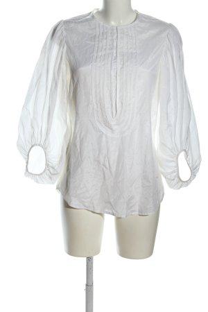 Diane von Furstenberg Blouse transparente blanc style décontracté