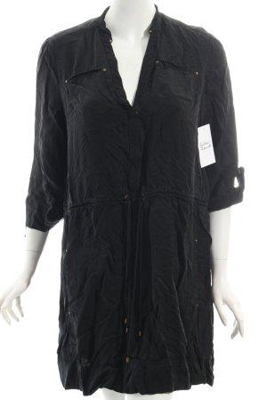 Diane von Furstenberg Tunikakleid schwarz Casual-Look