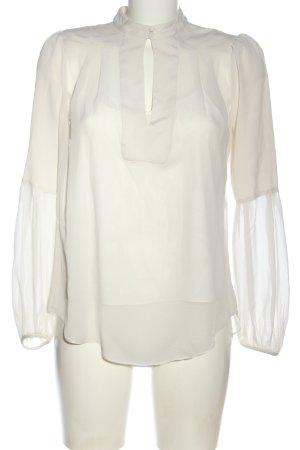 Diane von Furstenberg Twin set in tessuto bianco elegante