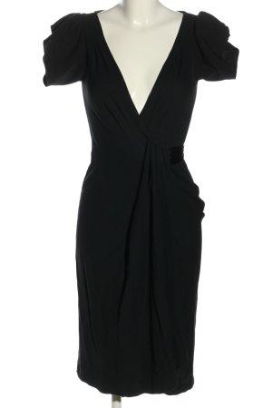 Diane von Furstenberg Wickelkleid schwarz Elegant