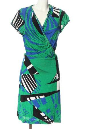 Diane von Furstenberg Robe portefeuille motif abstrait élégant