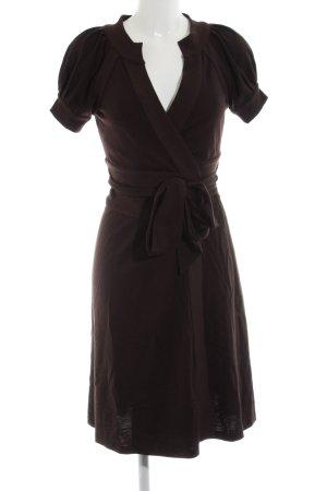 Diane von Furstenberg Wickelkleid braun Business-Look