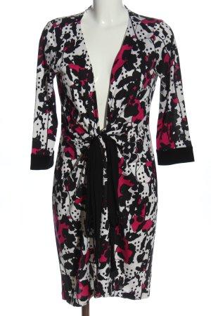 Diane von Furstenberg Robe portefeuille imprimé allover style décontracté