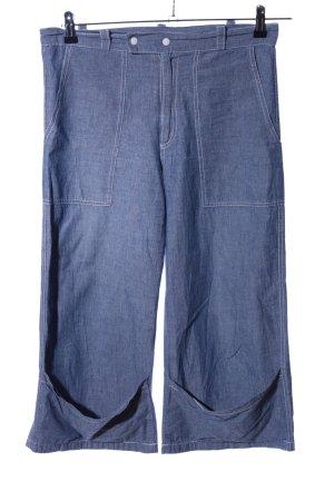 3/4-Hose blau Casual-Look