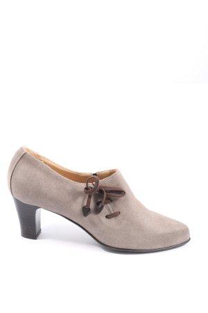Diavolezza Slip-on Booties natural white elegant