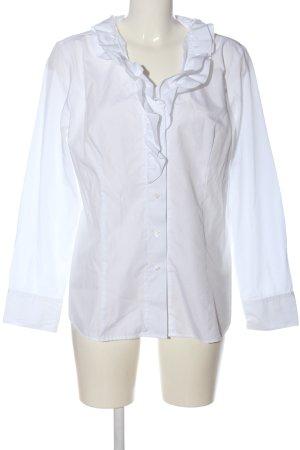 Dibari Camicia blusa bianco stile professionale