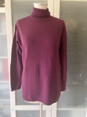 Dibari Seide Cashmere Pullover Gr L fuchsia