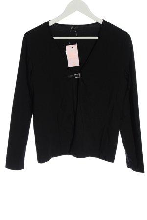 Dibari Veste chemise noir style décontracté