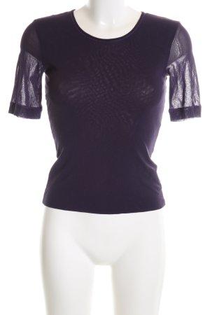 Dibari T-Shirt lila Casual-Look