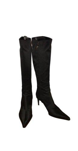 Dibrera Laarzen met hoge hakken zwart