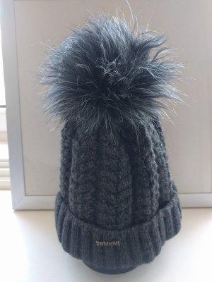 dicke Mütze in grau