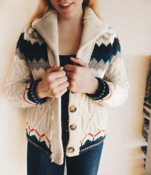 Zara Giacca di lana multicolore