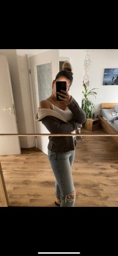 Dicke Strickjacke Zara