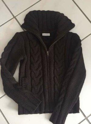 C&A Knitted Vest dark brown