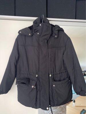Dicke Winter Jacke mit Kapuze