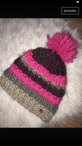 Barts Bonnet en crochet multicolore