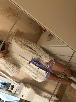 H&M Divided Cardigan a maglia grossa bianco