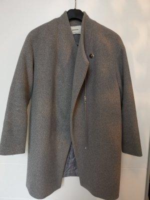 Stradivarius Oversized Jacket grey