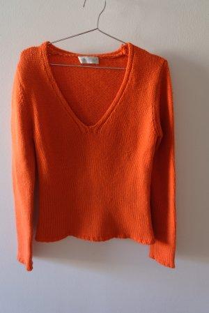 Nice Connection Pullover in cashmere arancione Cachemire