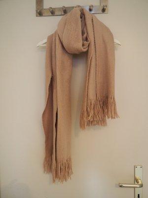 Dicker rosa Schal H&M