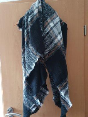 Pieces Bufanda de lana negro