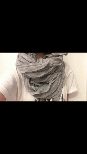 Pieces Tube Scarf light grey-silver-colored