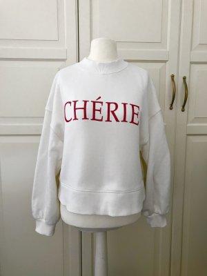 Dicker Sweater mit Lack-Chérie von H&M Trend
