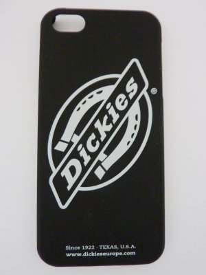 Dickies Mobile Phone Case black-white synthetic material