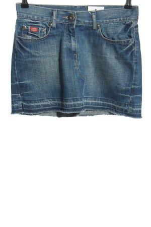 Dickies Jeansowa spódnica niebieski W stylu casual