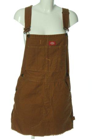 Dickies Overgooier overall rok bruin casual uitstraling