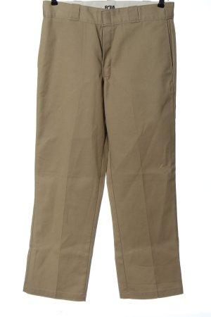 Dickies Spodnie materiałowe kremowy W stylu casual