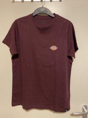 Dickies T-shirt bordo