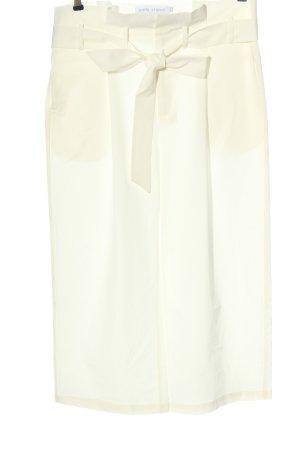 diddi studio Pantalon «Baggy» blanc style décontracté