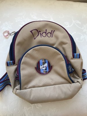 Diddl Kindergarden Backpack beige-blue