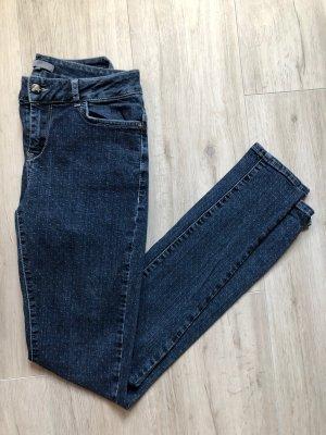 Didi Jeans Hose blau Punkte Pünktchen S 36 Röhrenjeans Skinny Slim