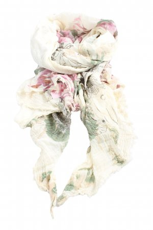 Didi Crinkle Scarf abstract pattern casual look